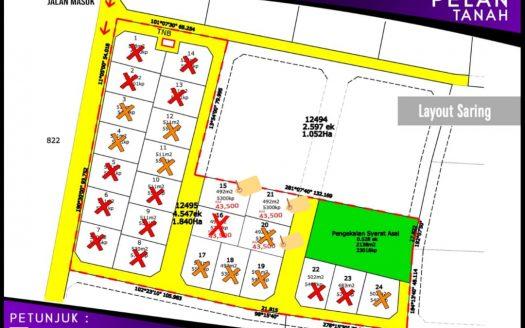 Tanah Lot Banglo Untuk Dijual Di Saring Pasir Puteh Kelantan