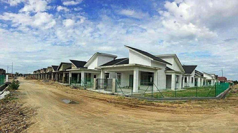 Semi D Rumah Berkembar Untuk Dijual Di Kg Raja Besut - Taman Koperat Putera