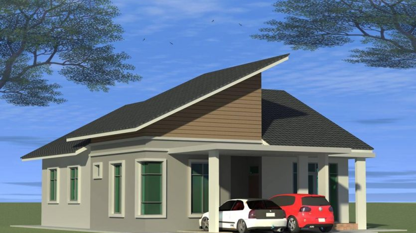 rumah banglo untuk dijual di kg pelandang bukit gedup dungun terengganu
