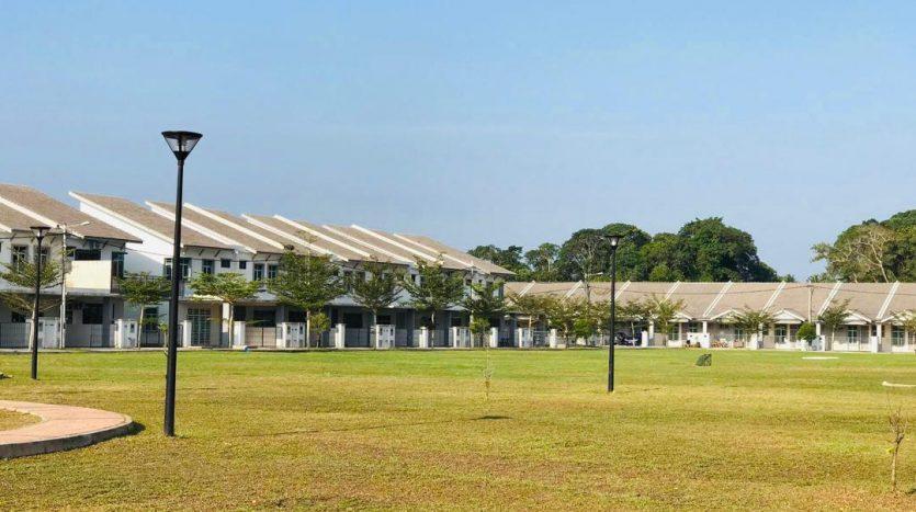 rumah semi setingkat di bandar chukai kemaman taman koperasi perdana