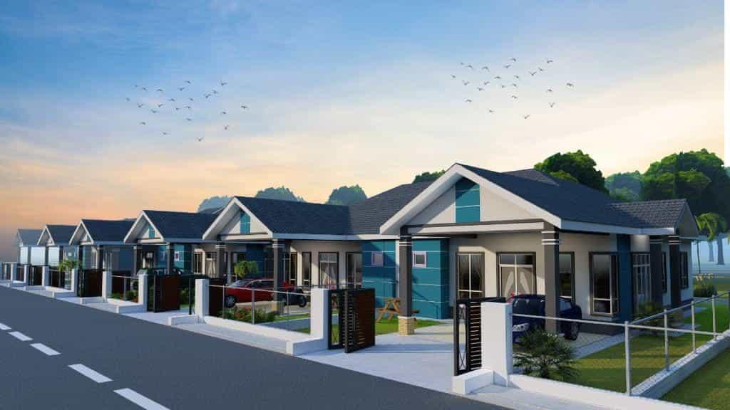 rumah semi d banglo untuk dijual di alor lintah besut lestari residen perumahan terengganu